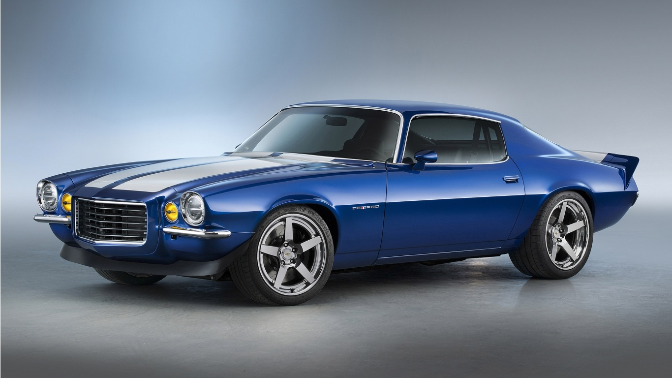 Chevrolet 1970 Camaro RS Supercharged LT4 Concept 2015