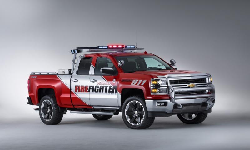 Chevrolet Silverado Firefighter 2013 Wallpapers 800x480