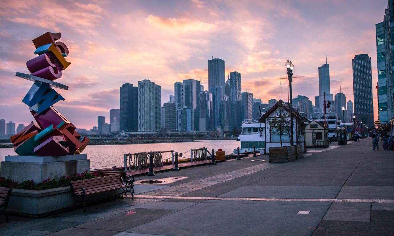 navy pier chicago wallpaper - photo #3