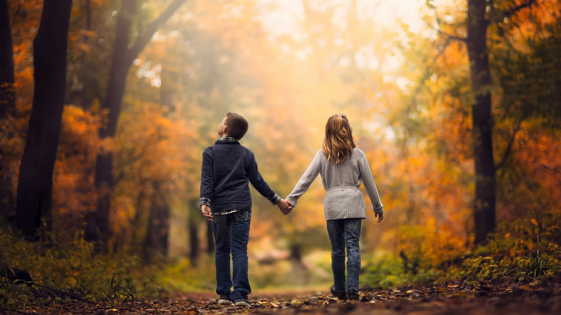 childhood Love Walk Wallpapers - 1920x1080 - 414453