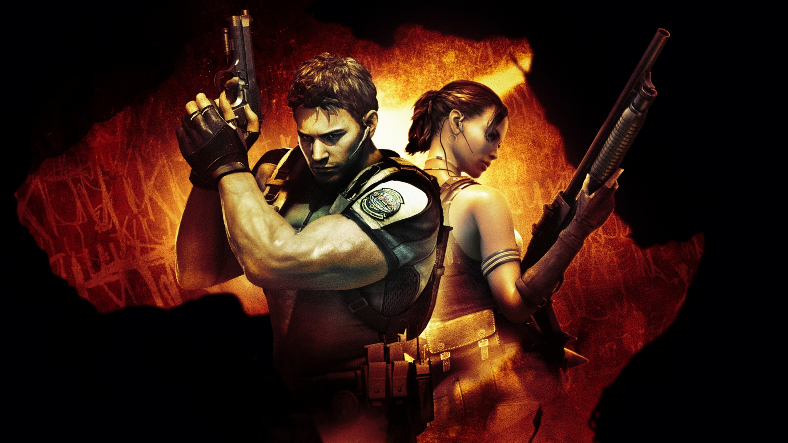 Chris And Sheva Resident Evil 5