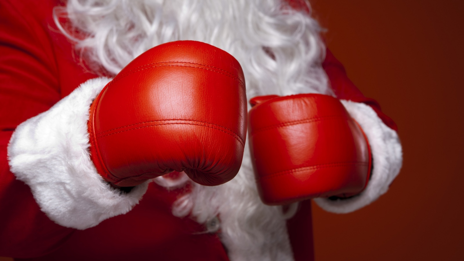 Christmas Santa Claus Boxing Glove