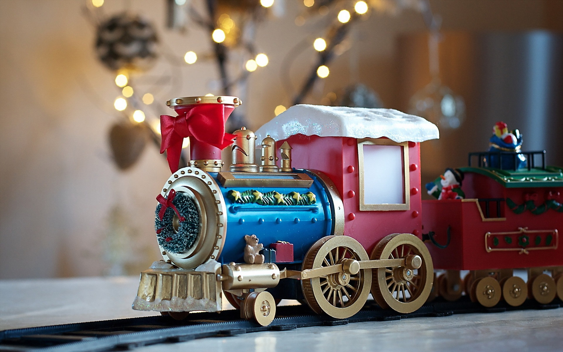 Christmas Toy Train : Christmas toys wallpapers