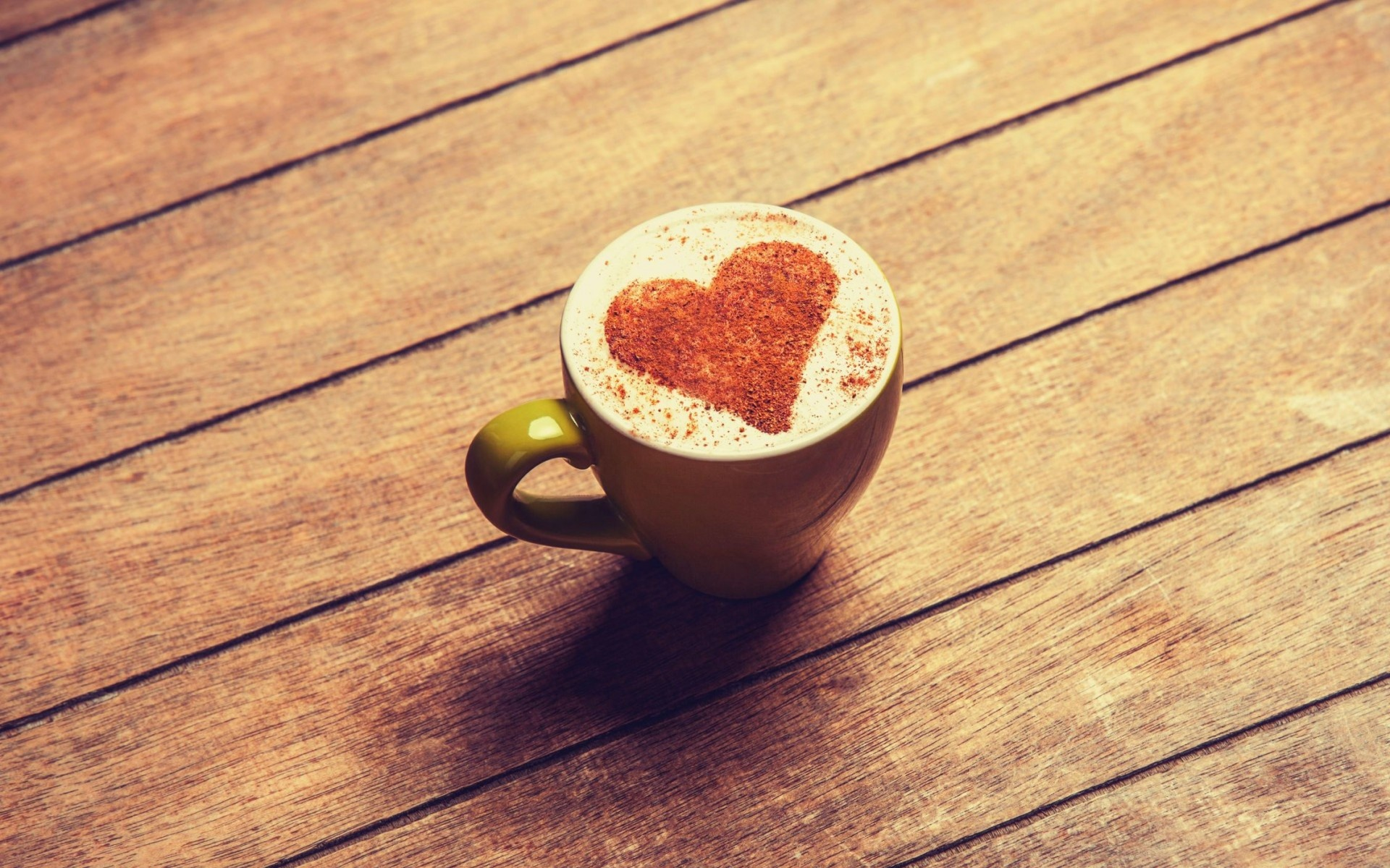 Cocoa Heart Coffee Cup