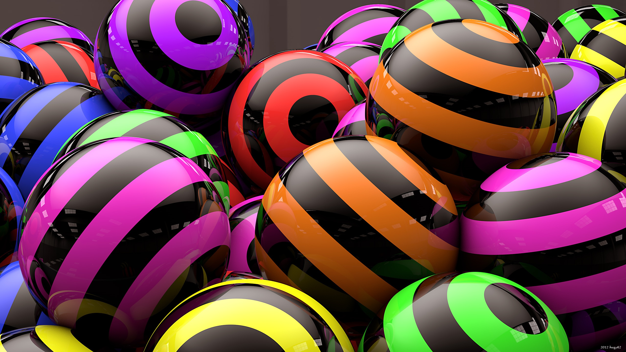 Color strips balls 2560 x 1440 download close