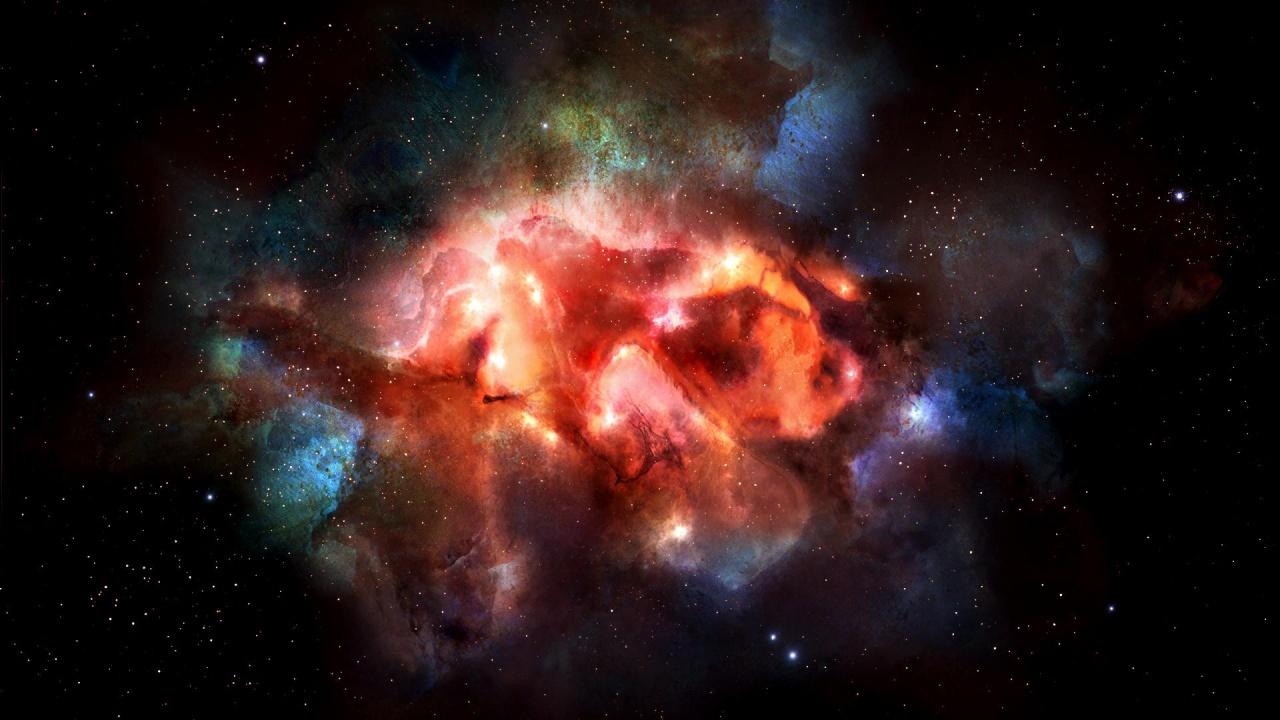 Colorful Antetum Nebula Wallpapers - 1280x720 - 239153
