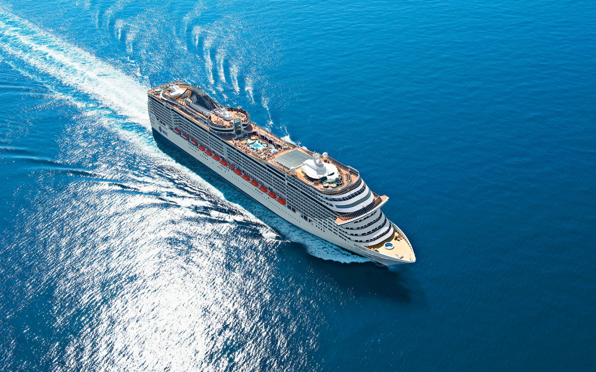 MSC Divina Cruise Ship Interior