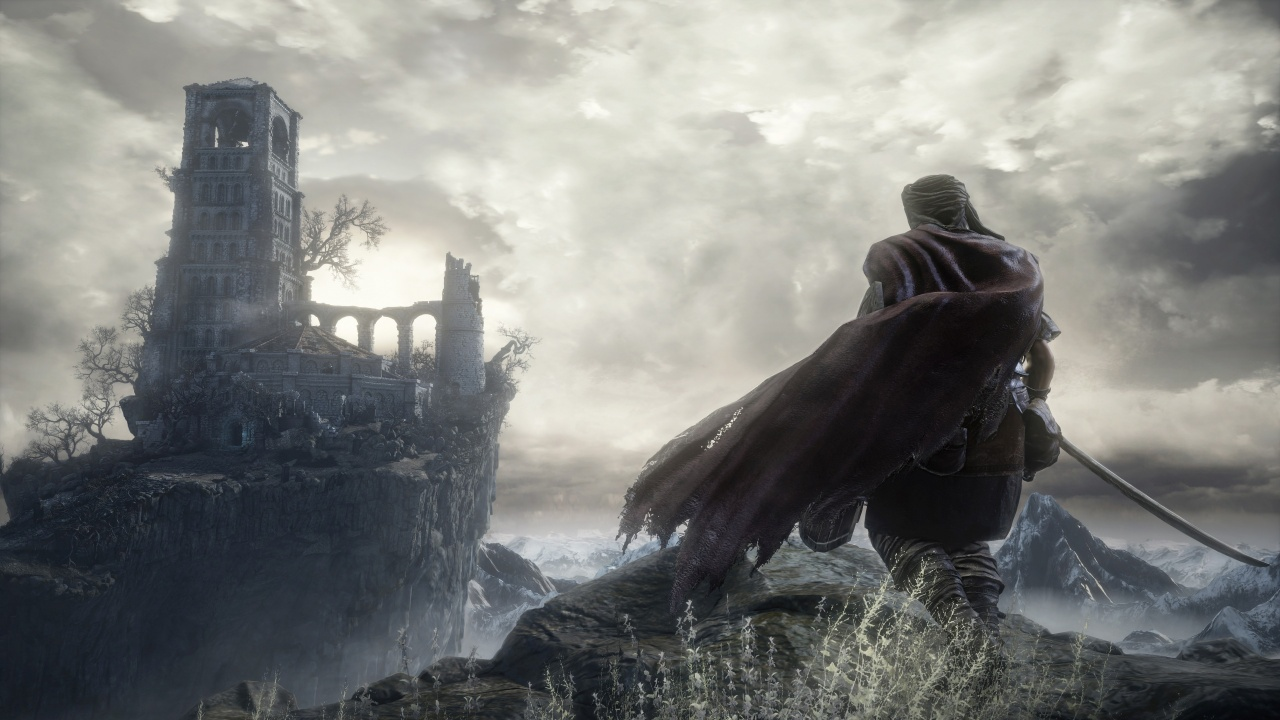 Dark Souls 3 Game Ruin Castle