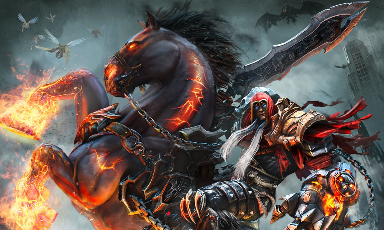 Darksiders War Wallpaper By: Darksiders Warmastered Wallpapers