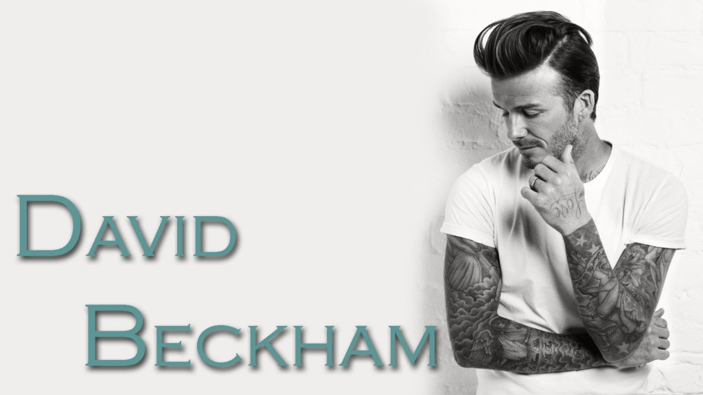 David Beckham Mens Health
