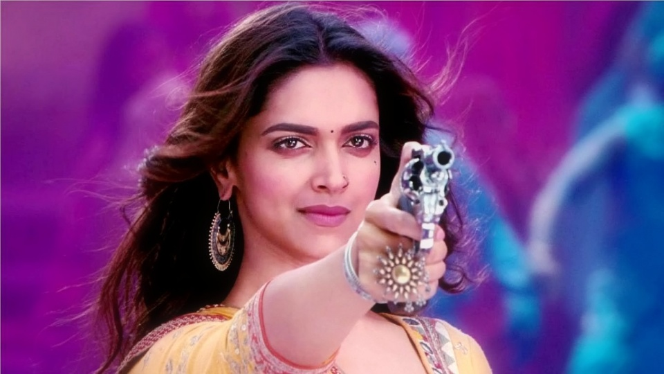 Deepika Padukone With Gun