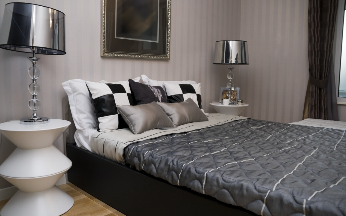 Design Interior And Bed