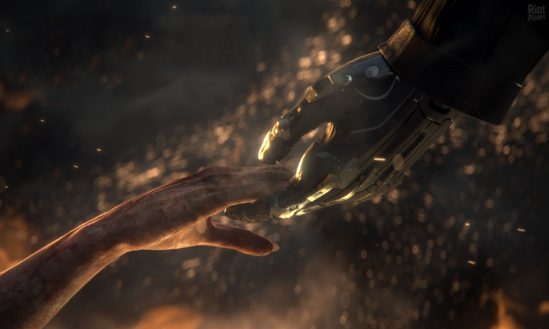 Deus Ex Mankind Divided Hands