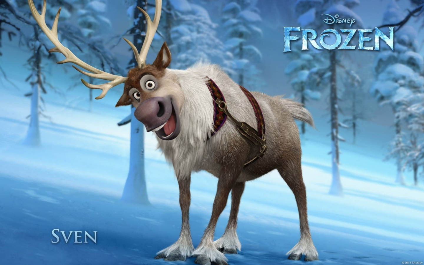 Disney Frozen 2013 Sven Wallpapers - 1440x900 - 326375 Disney Frozen Sven Wallpaper
