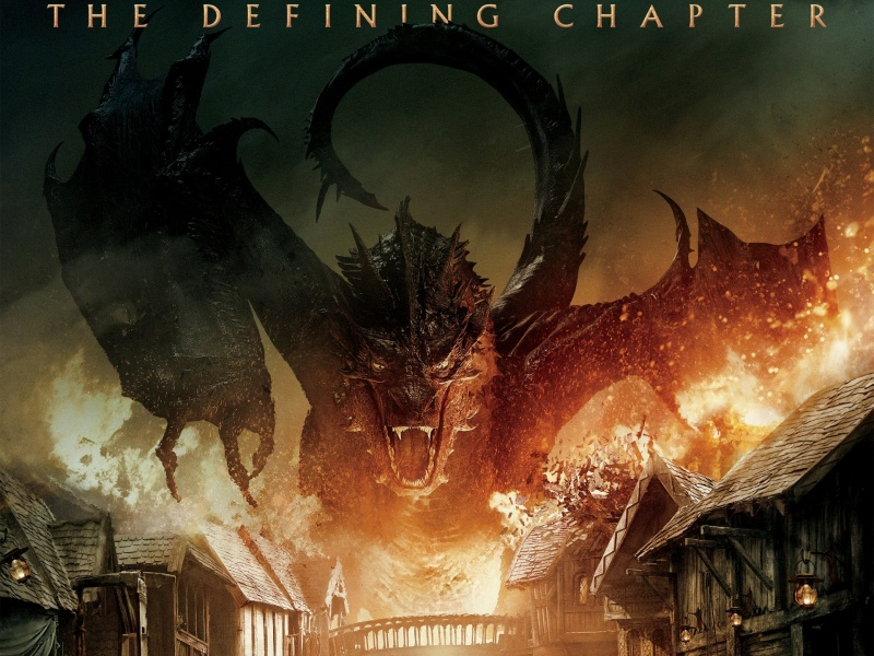 Dragon The Hobbit The Battle Of The Five Armies