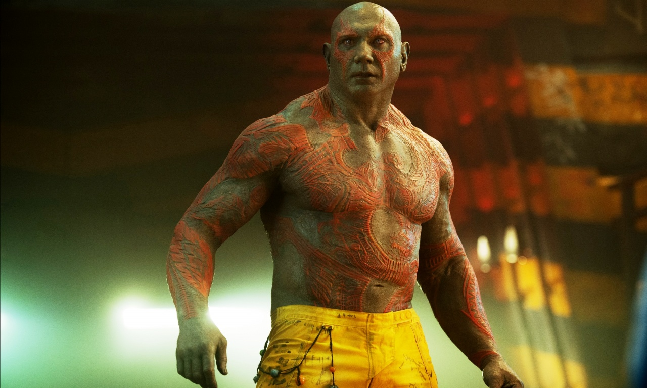 Drax The Destroyer Guardians Of The Galaxy 2014