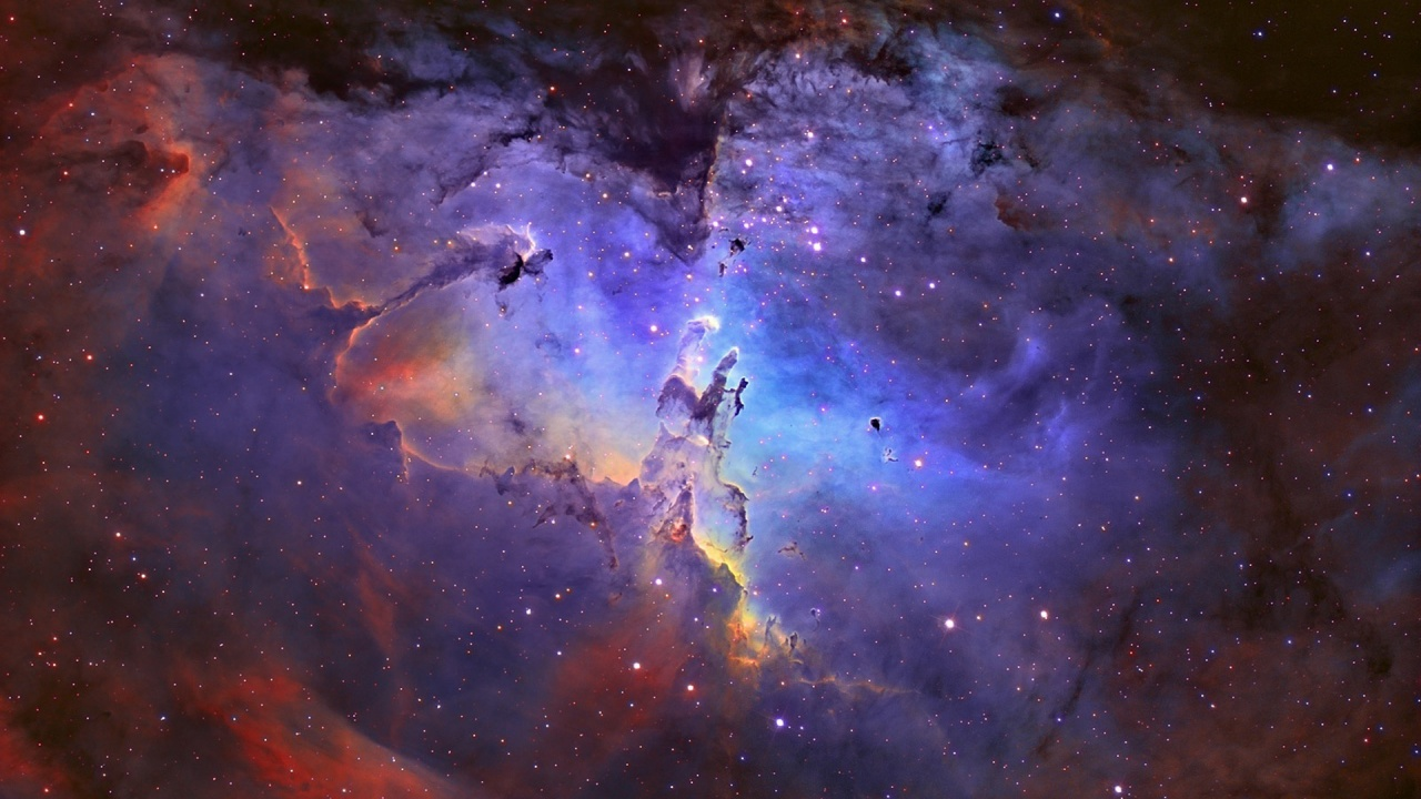 Eagle Nebula In Universe Wallpapers - 1280x720 - 288657