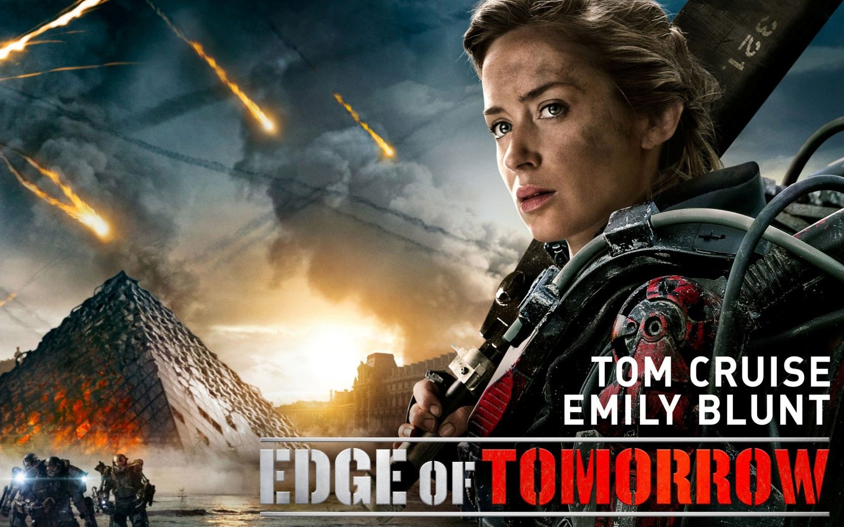 Emily Blunt In Edge Of Tomorrow Wallpapers