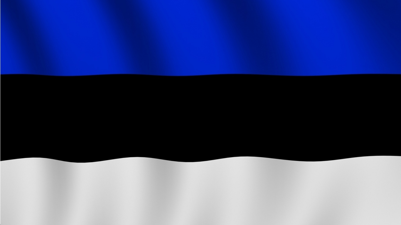 Estonia Flag Wallpapers - 1366x768 - 73766