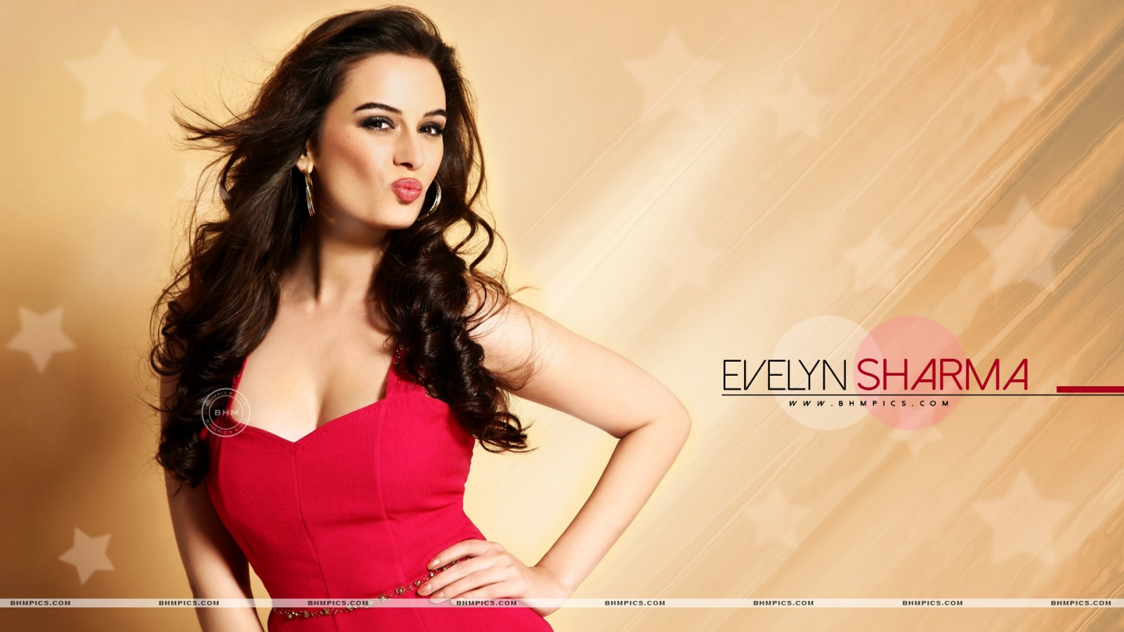 Evelyn Sharma In Pink Dress