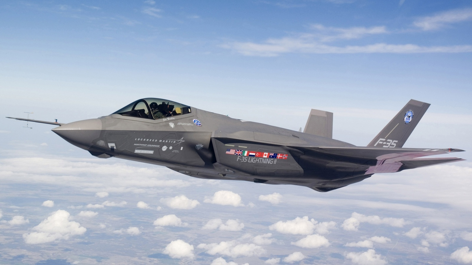 f 35 lightning ii lockheed martin wallpapers 1600x900
