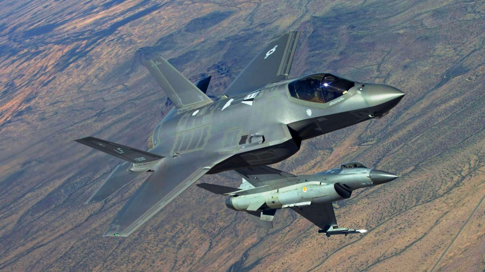 F-35 Lightning Ii Fighting Falcon
