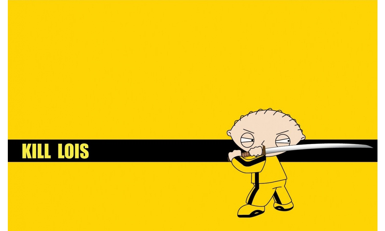 Family Guy Yellow Background