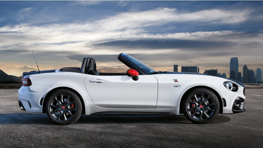 Fiat Spider Abarth >> Fiat 124 Spider Abarth V6 2017 Wallpapers - 852x480 - 151302