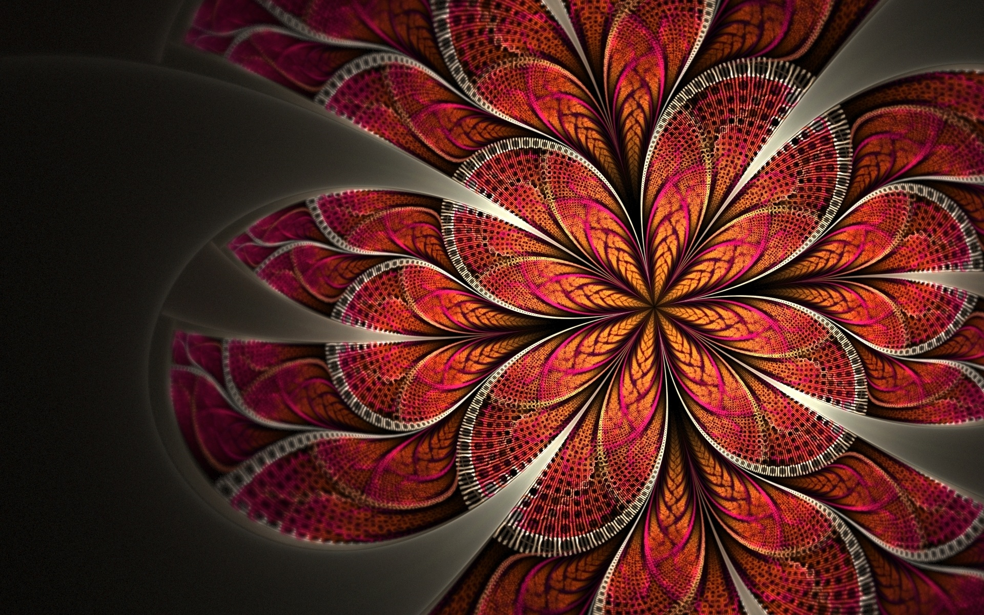 Flower Pattern Abstract