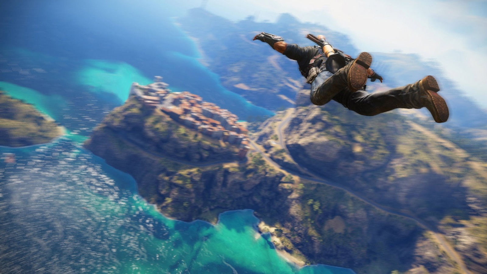 Free Fall Just Cause 3