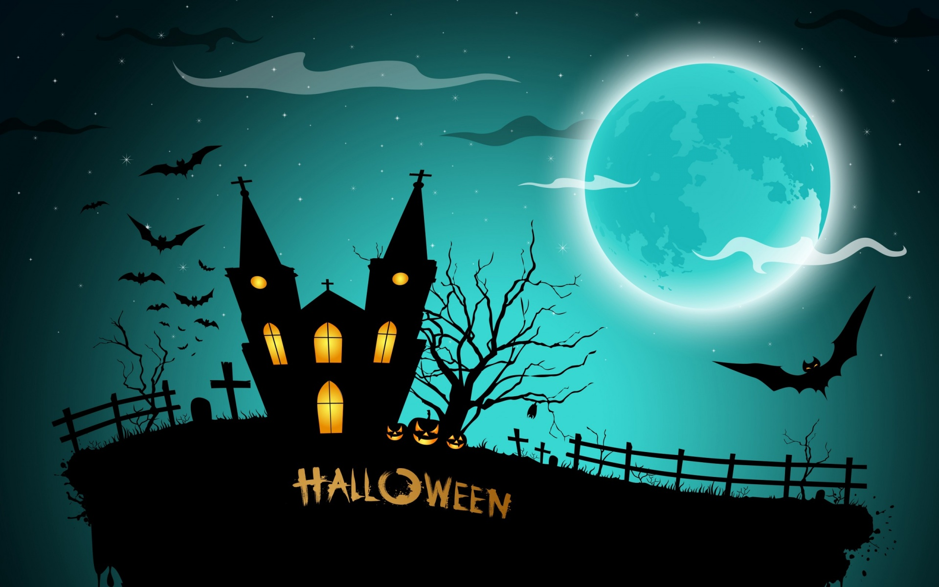 halloween moon wallpaper - photo #24