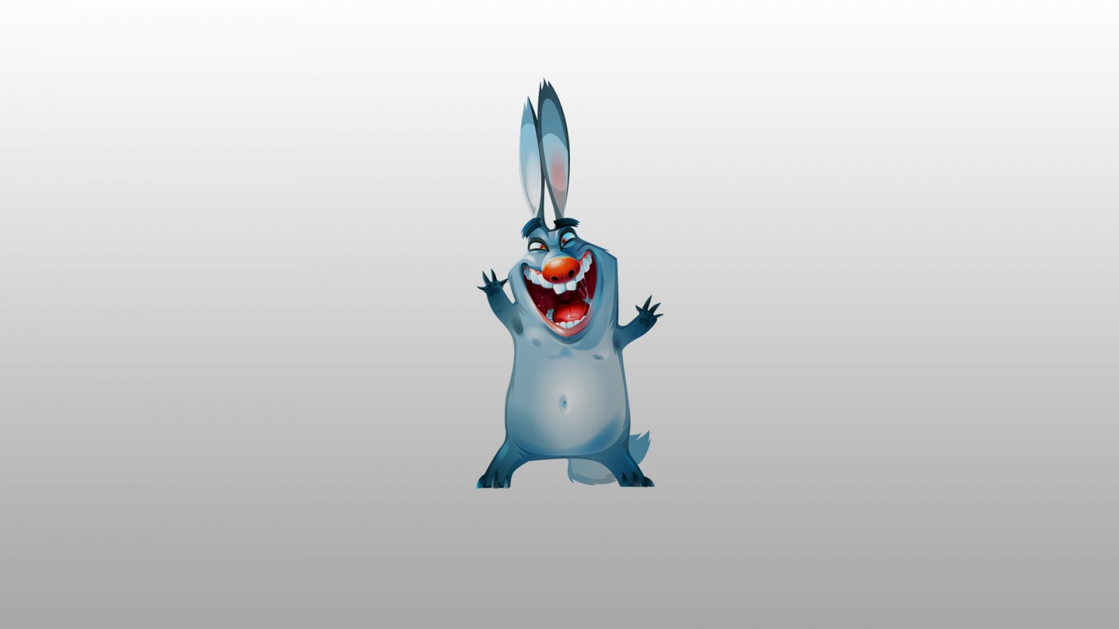 Funny Cartoon Rabbits