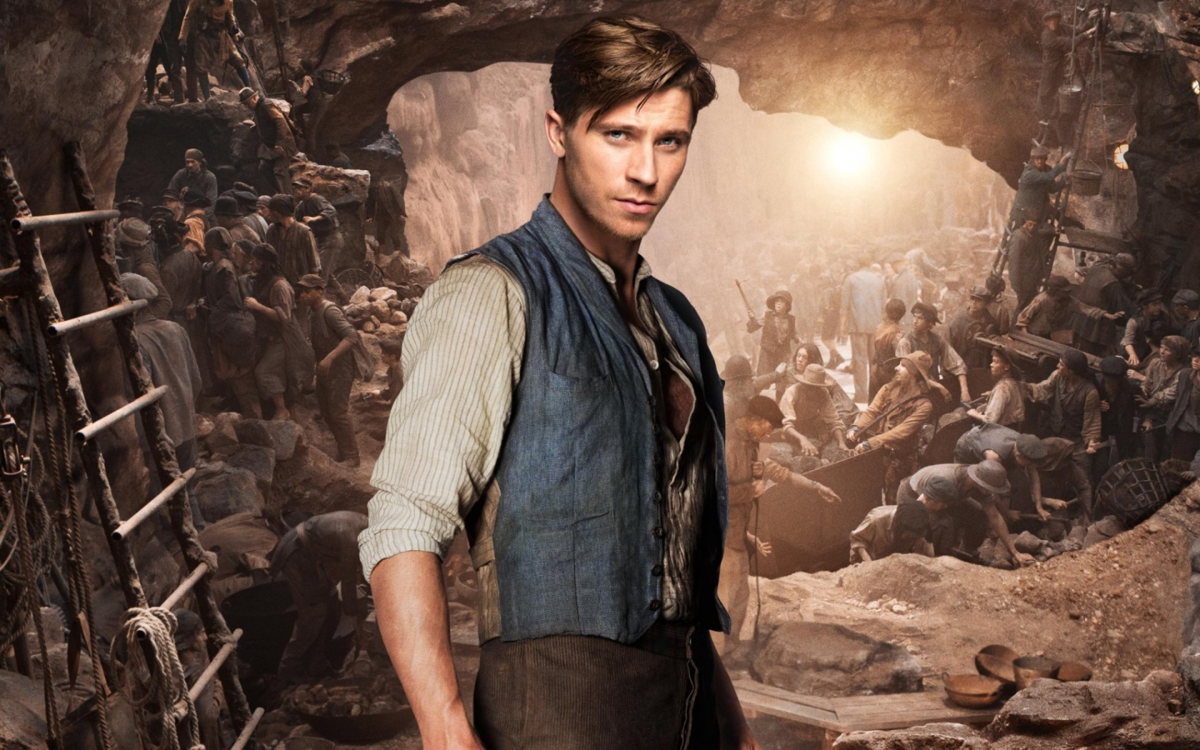 Garrett Hedlund As Hook In Pan 2015