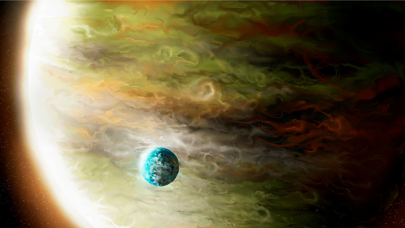wallpapers of giant planets - photo #12