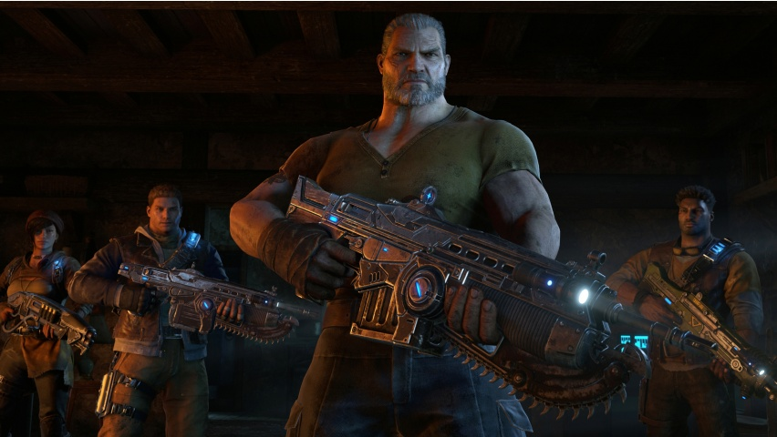 Gears Of War 4 Squad