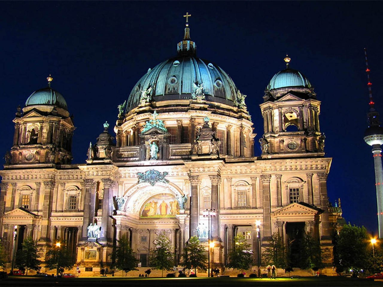 Germany Berlin Cathedral