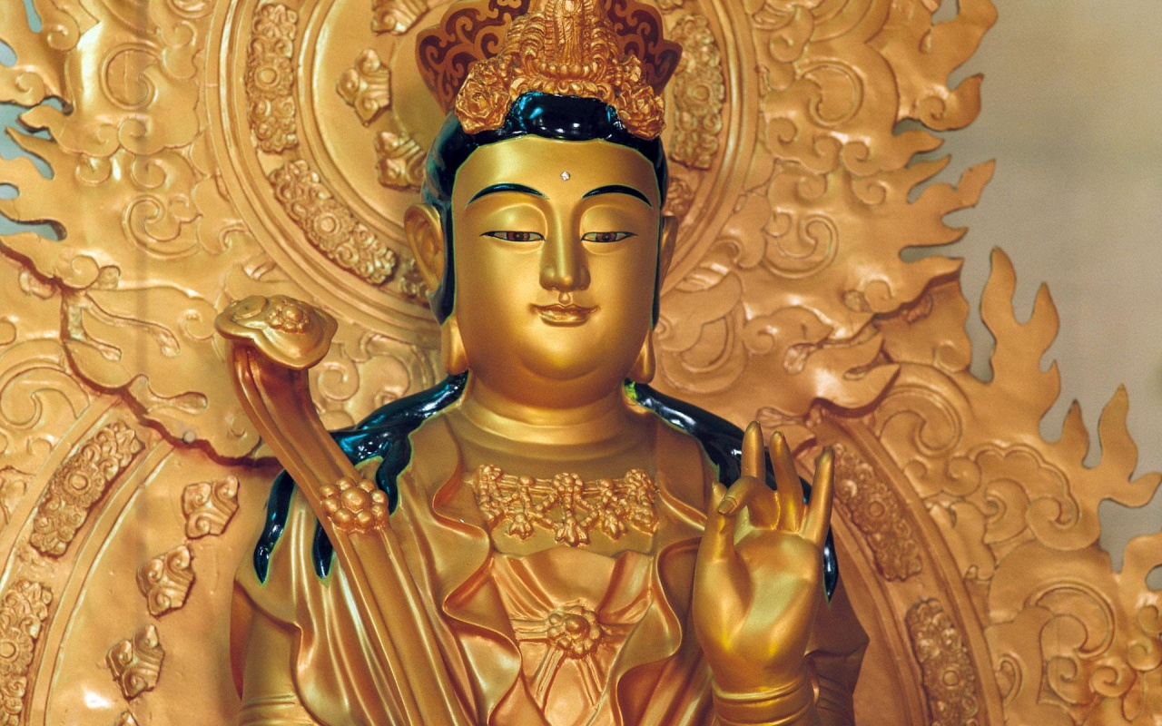 Gold Body Buddha