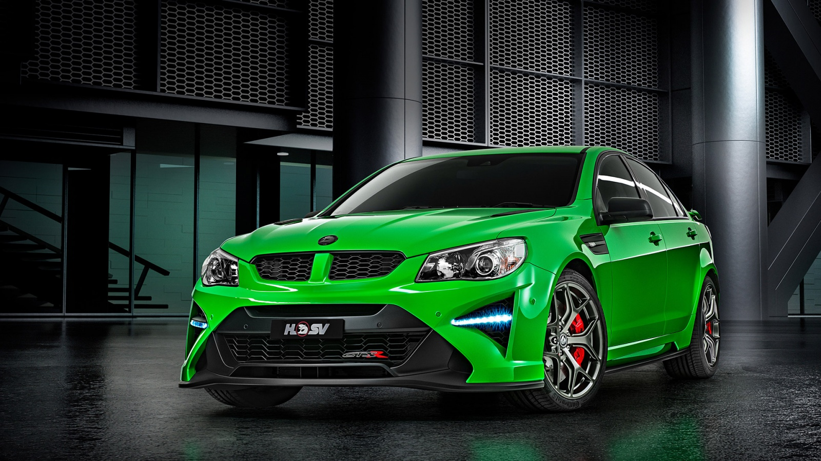 Green Holden HSV GTSR 2017