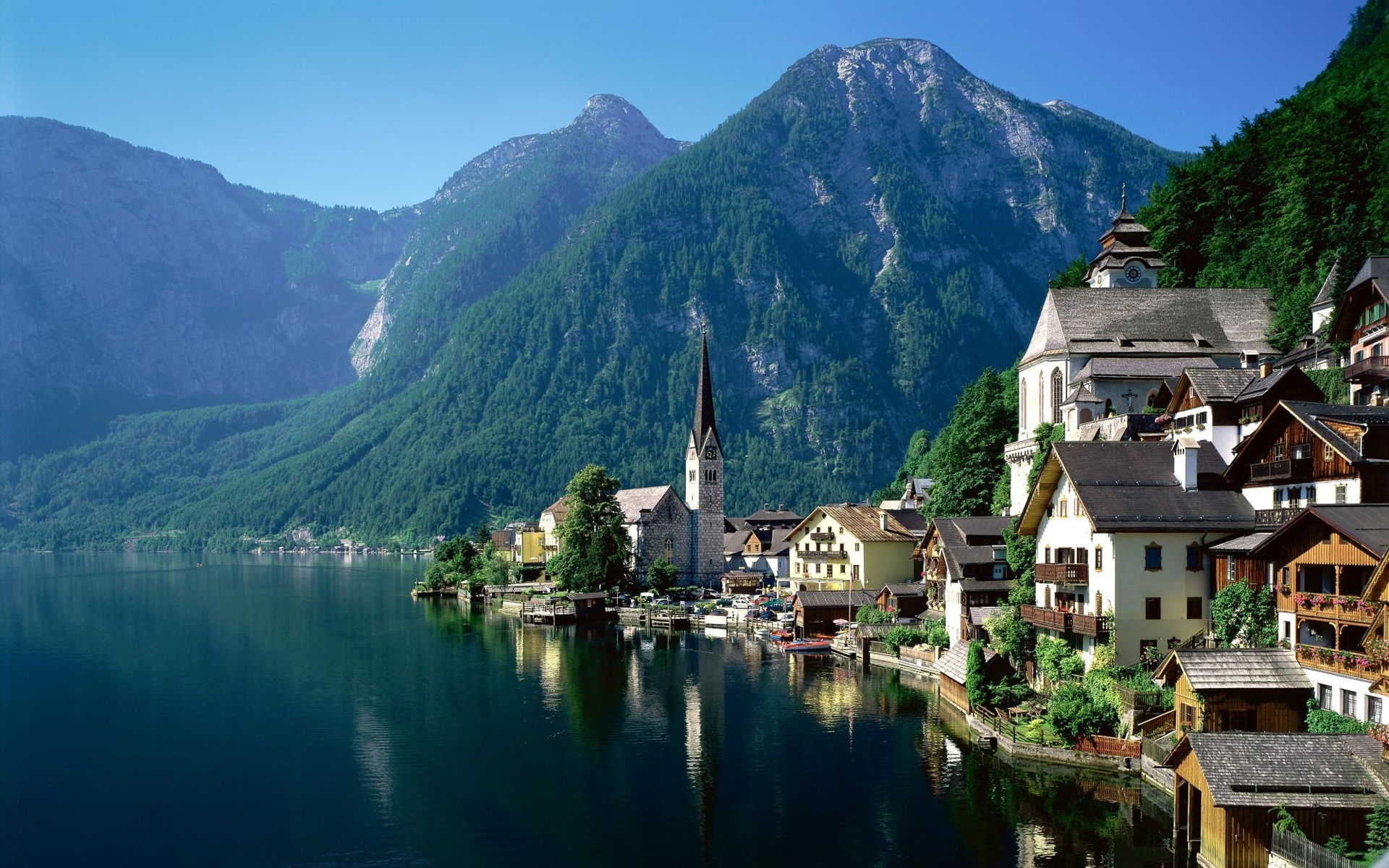 Hallstatt Austria Wallpapers 1920x1200 887124