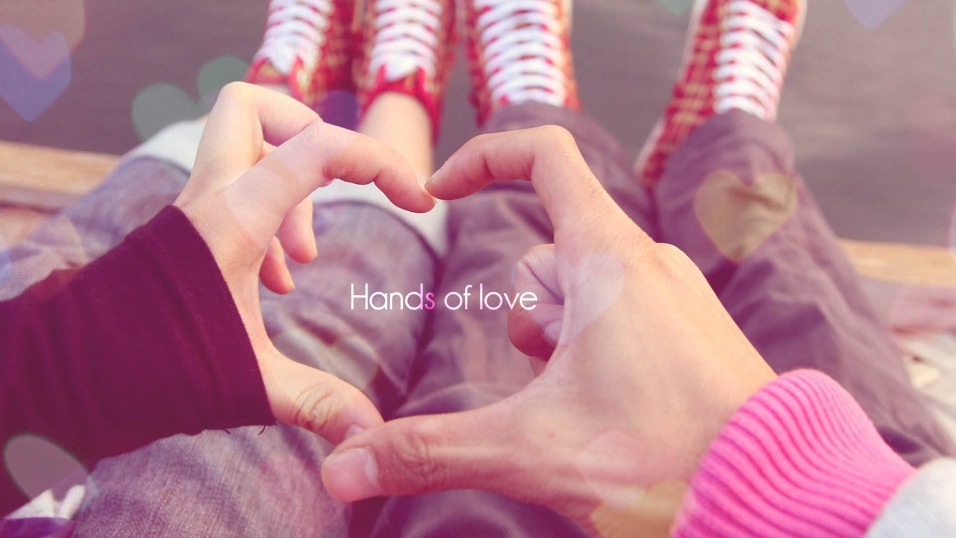Hands Of Love Couple
