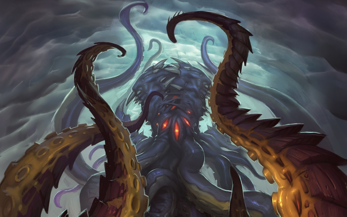Hearthstone Whispers Of The Old Gods Art