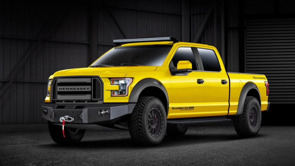 Hennessey Ford VelociRaptor 600 Supercharged 2015
