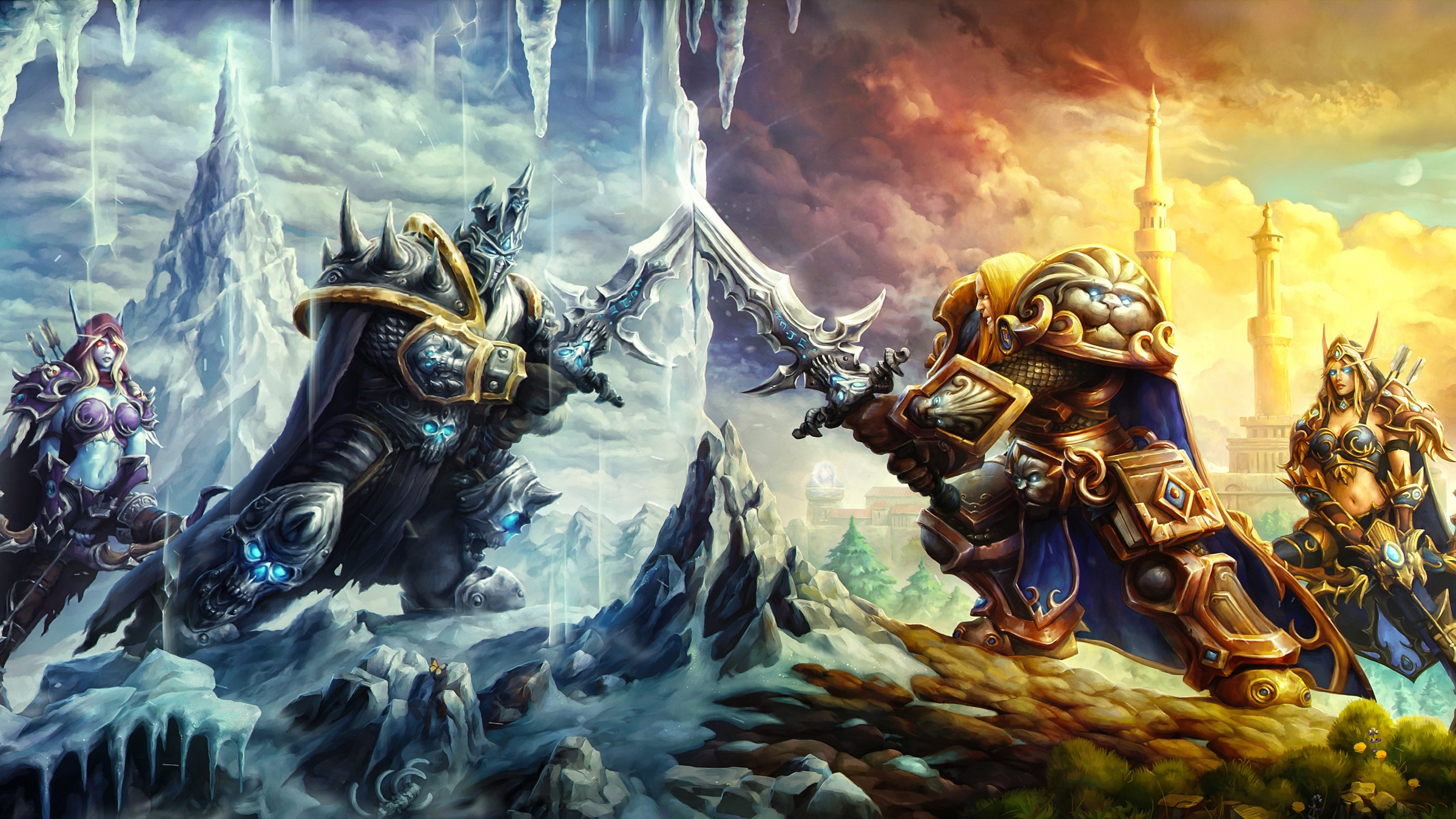 Heroes Of The Storm Battle Of Arthas And Sylvanas