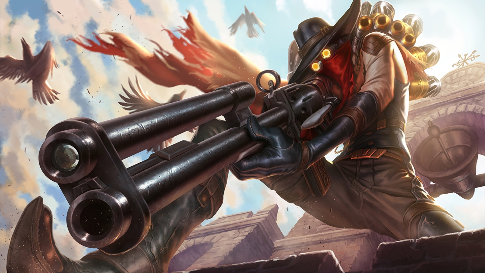 High Noon Jhin Splash League Of Legends