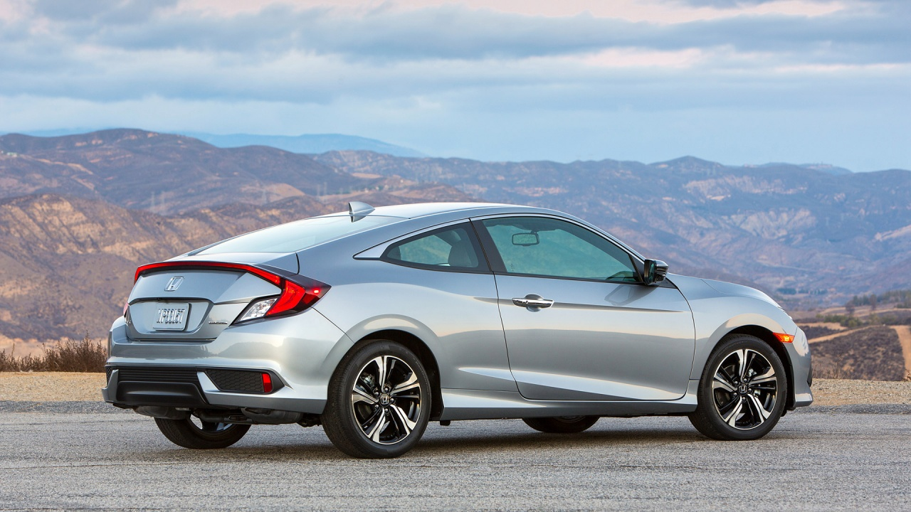 honda civic coupe 2016 wallpapers 1280x720 318480