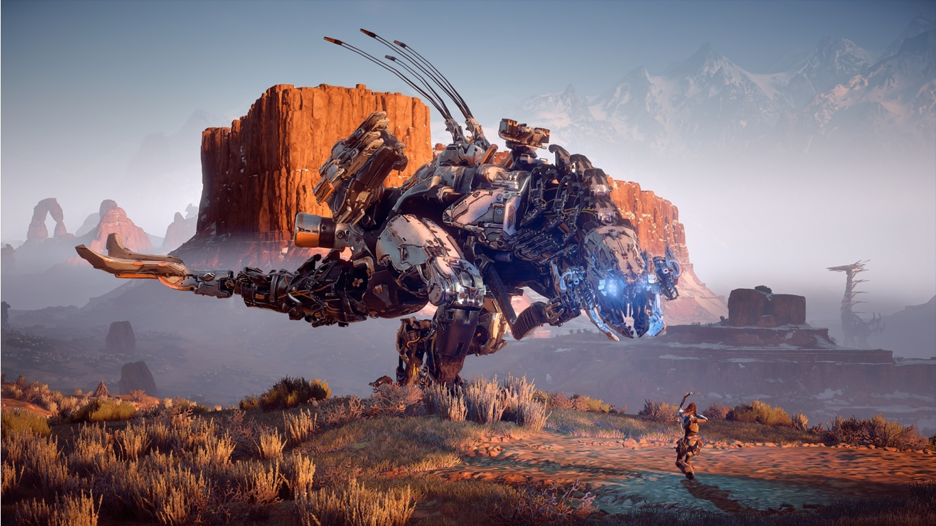 Horizon Zero Dawn Screenshots