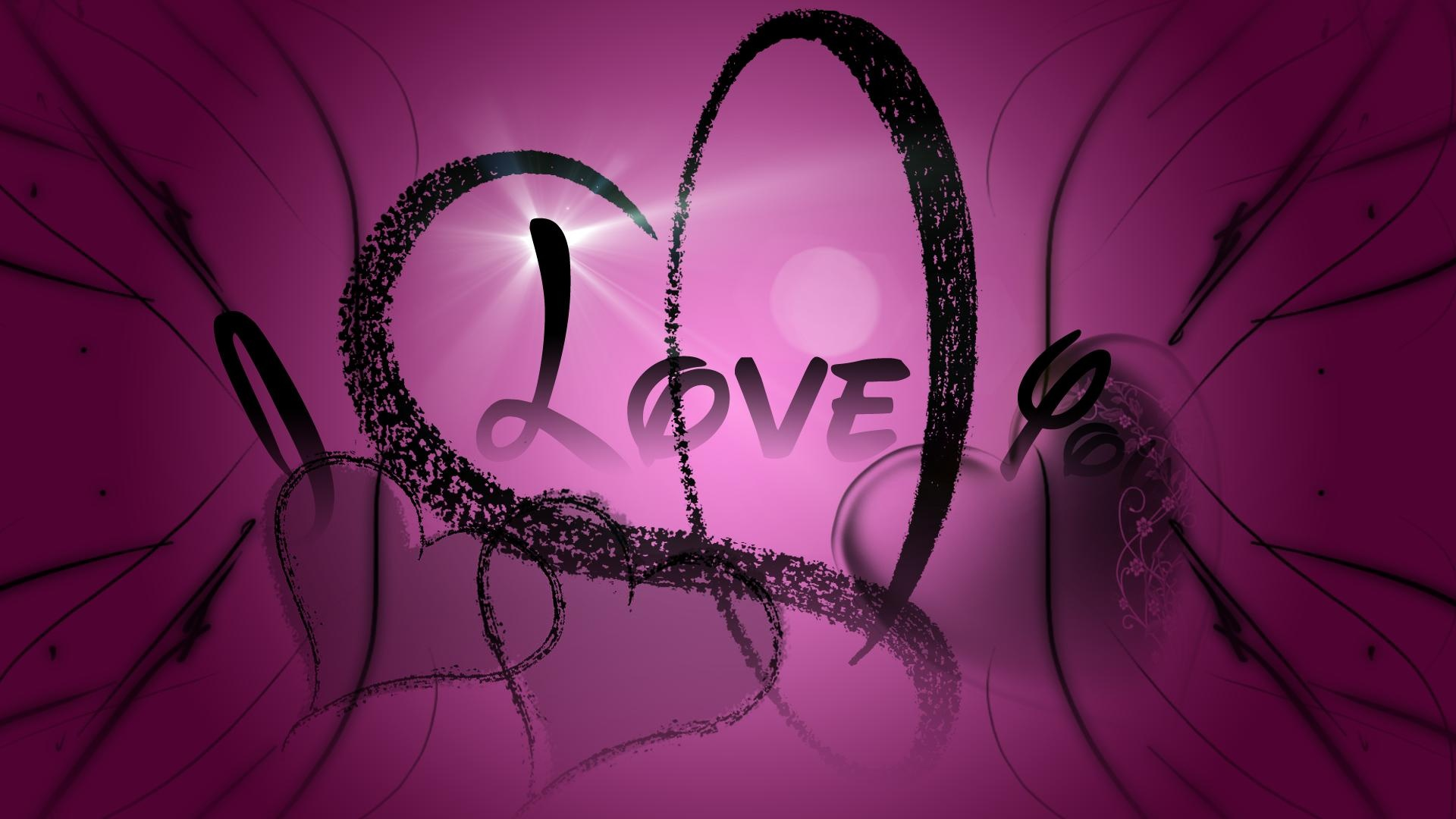 Best I Love You Wallpapers : Love You In Purple Facebook Covers Facebook Timeline Cover Photos