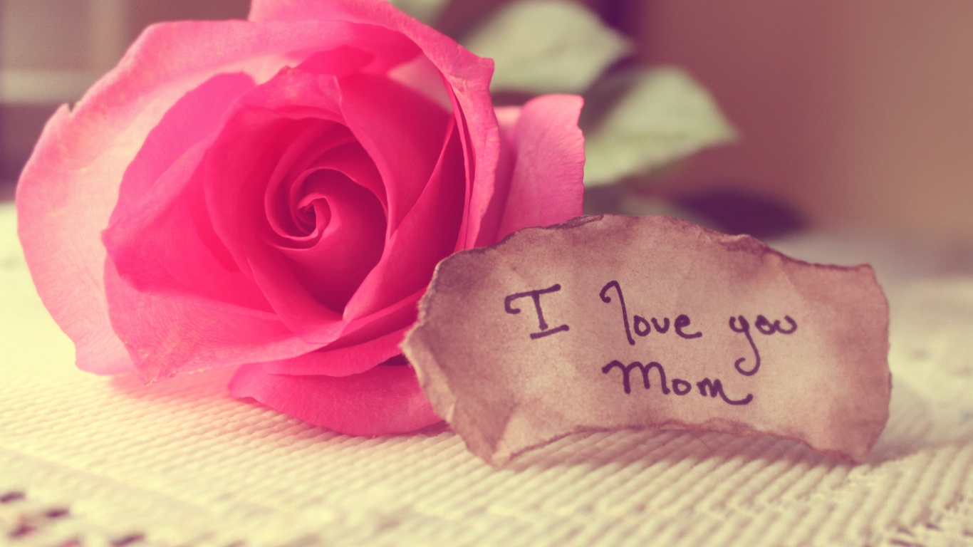 Wallpaper I Love You Mom : I love You Mom Wallpapers - 1366x768 - 227853