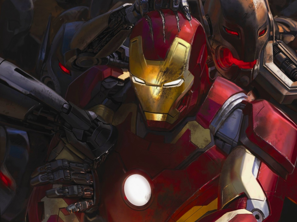 Iron Man Avengers: Age Of Ultron 2015