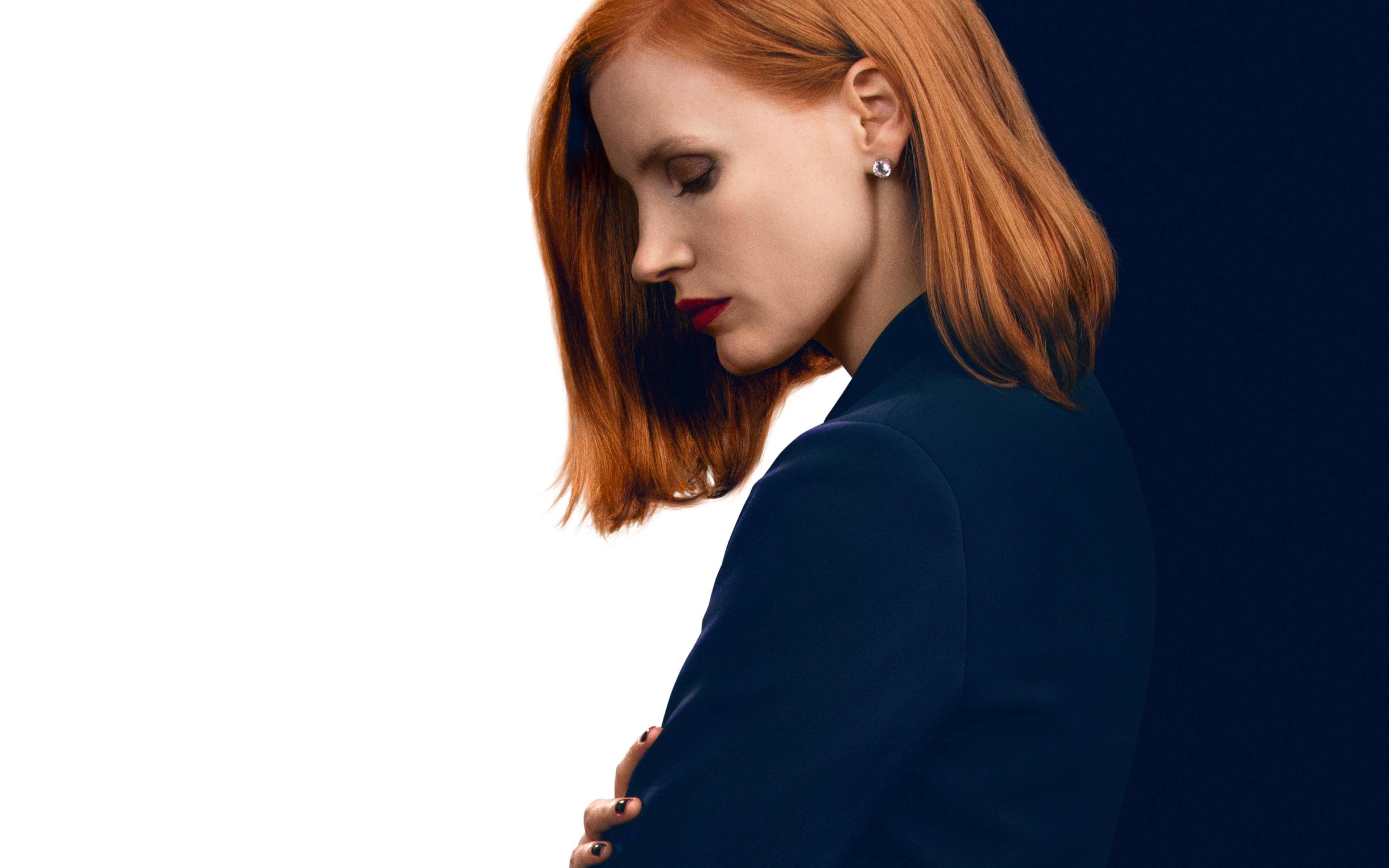 Jessica Chastain As Elizabeth Sloane In Miss Sloane
